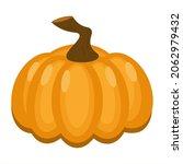 cute cartoon pumpkin. isolated... | Shutterstock .eps vector #2062979432