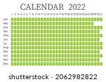 2022 calendar planner. ... | Shutterstock .eps vector #2062982822
