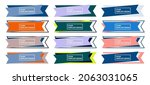 set of stickers  colorful... | Shutterstock .eps vector #2063031065