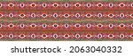 ikat geometric folklore...   Shutterstock .eps vector #2063040332