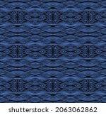 ikat border. geometric folk...   Shutterstock .eps vector #2063062862
