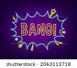 comic speech bubbles with text... | Shutterstock .eps vector #2063113718