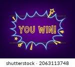 comic speech bubbles with text... | Shutterstock .eps vector #2063113748