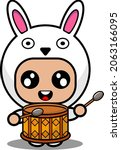 vector illustration of cute...   Shutterstock .eps vector #2063166095