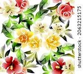 abstract elegance seamless... | Shutterstock .eps vector #2063215175