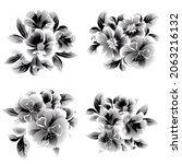 flowers set. collection of... | Shutterstock .eps vector #2063216132