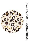 round background with animal... | Shutterstock .eps vector #2063231798