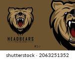 head bears illustration ready... | Shutterstock .eps vector #2063251352