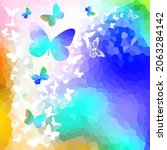 beautiful colorful background... | Shutterstock .eps vector #2063284142