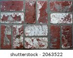Grunge Used Castaic Brick In...