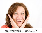 portrait of a happy beautiful... | Shutterstock . vector #20636362