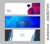 modern blue red yellow green... | Shutterstock .eps vector #2063827145