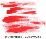 watercolor brush stroke | Shutterstock .eps vector #206399266