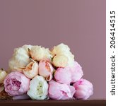 Bouquet Made Of Artifical Pink...