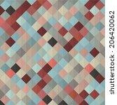 green pattern  vintage. red...   Shutterstock .eps vector #206420062
