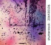grunge background | Shutterstock . vector #206430106