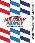 national military family month... | Shutterstock .eps vector #2064301928