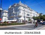 vienna  austria july 3  ... | Shutterstock . vector #206463868