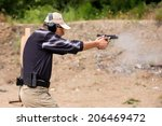 shooting and weapons training....   Shutterstock . vector #206469472