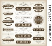 vintage vector design elements.