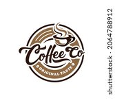 coffee shop vintage logo vector   Shutterstock .eps vector #2064788912