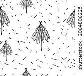 winter graphic seamless pattern ... | Shutterstock .eps vector #2064806225
