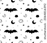 mystical  halloween  magical...   Shutterstock .eps vector #2064816392