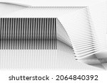 abstract halftone lines...   Shutterstock .eps vector #2064840392