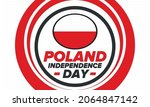 independence day in poland....   Shutterstock .eps vector #2064847142