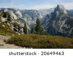 National Park Yosemite in California USA - stock photo