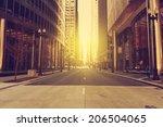 chicago   Shutterstock . vector #206504065