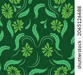 folk flowers print floral...   Shutterstock .eps vector #2065126688