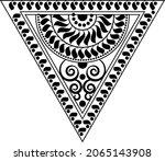 traditional asian  indian motif ...   Shutterstock .eps vector #2065143908
