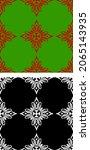 traditional asian  indian motif ...   Shutterstock .eps vector #2065143935