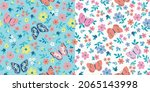 pattern butterfly graphic...   Shutterstock .eps vector #2065143998