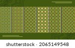 collection of decorative...   Shutterstock .eps vector #2065149548