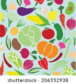 vector collection of various... | Shutterstock .eps vector #206552938