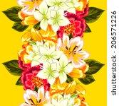 abstract elegance seamless... | Shutterstock . vector #206571226