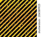 warning patterns danger tapes...   Shutterstock .eps vector #206589925