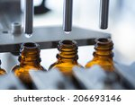 pharmaceutical production line | Shutterstock . vector #206693146