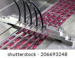 pharmaceutical production line | Shutterstock . vector #206693248