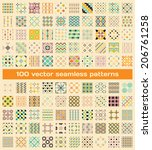 texture for wallpaper scrapbook ... | Shutterstock .eps vector #206761258