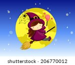witch | Shutterstock .eps vector #206770012