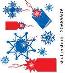 label xmas | Shutterstock .eps vector #20689609