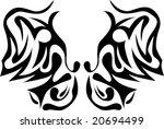 tribal butterfly | Shutterstock .eps vector #20694499