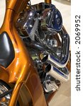 Custom Bike Engine Detail