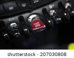Detail On A Red Start Button In ...