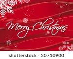merry christmas | Shutterstock .eps vector #20710900