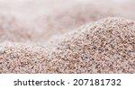 heap of fresh psyllium seeds... | Shutterstock . vector #207181732