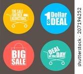 flat design sale discount...
